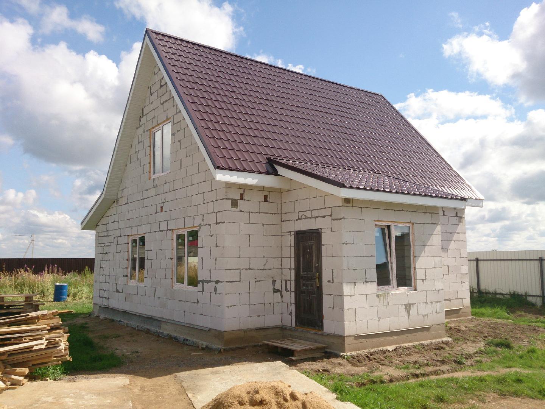 стоимость дома из пенобетона