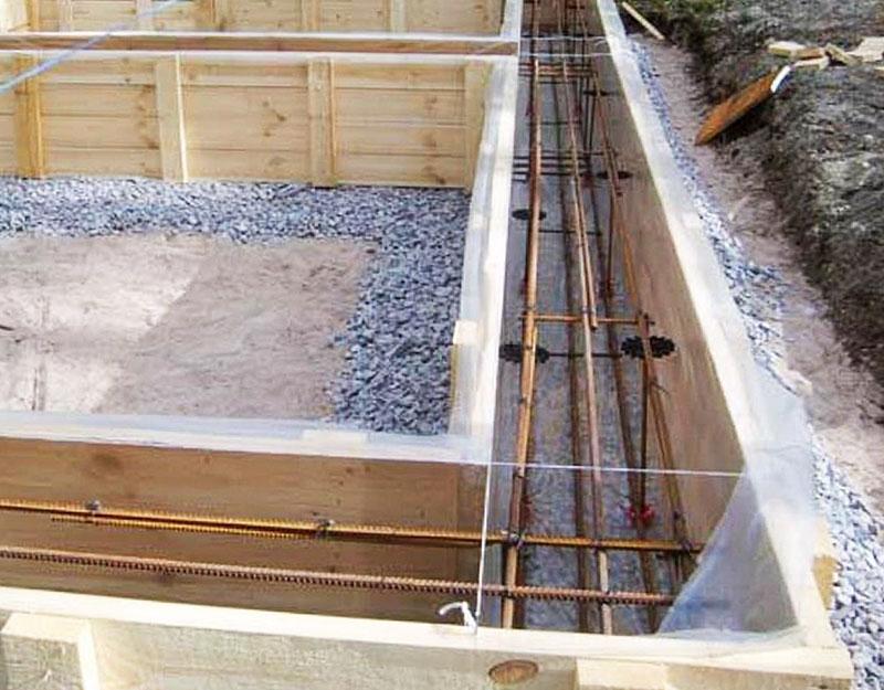 какой бетон нужен для фундамента гаража